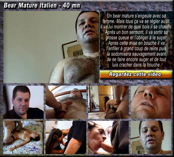 bear muscle mature russe